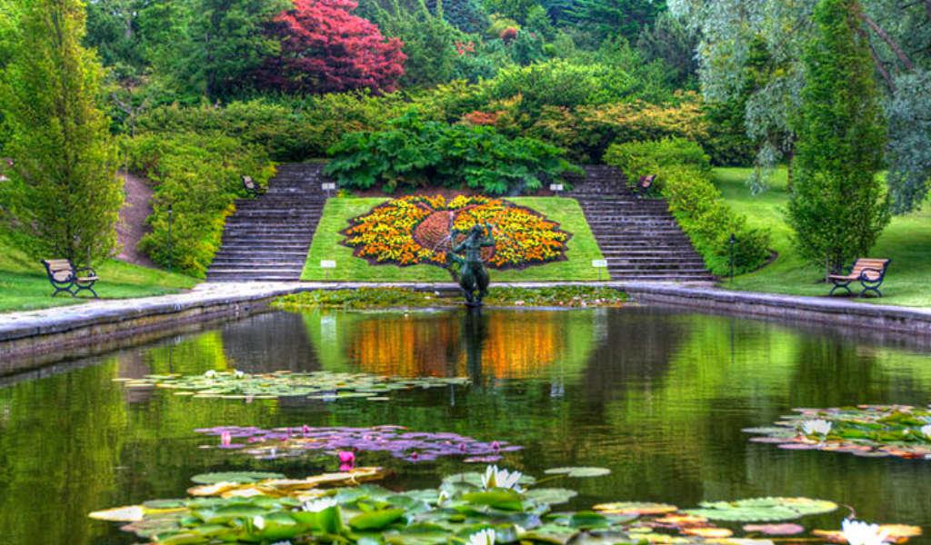 Jardim botanico na Noruega