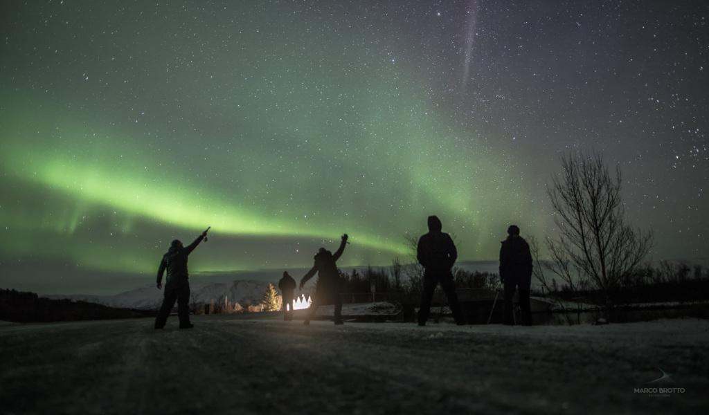 Aurora Boreal na Suécia