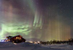 Aurora Boreal Laponia Finlandia