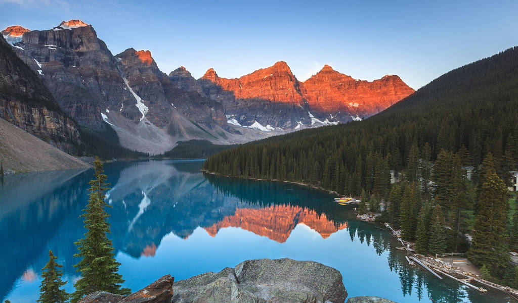 Turismo no Canada em Banff
