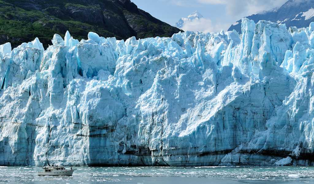 turismo no Alasca glacier
