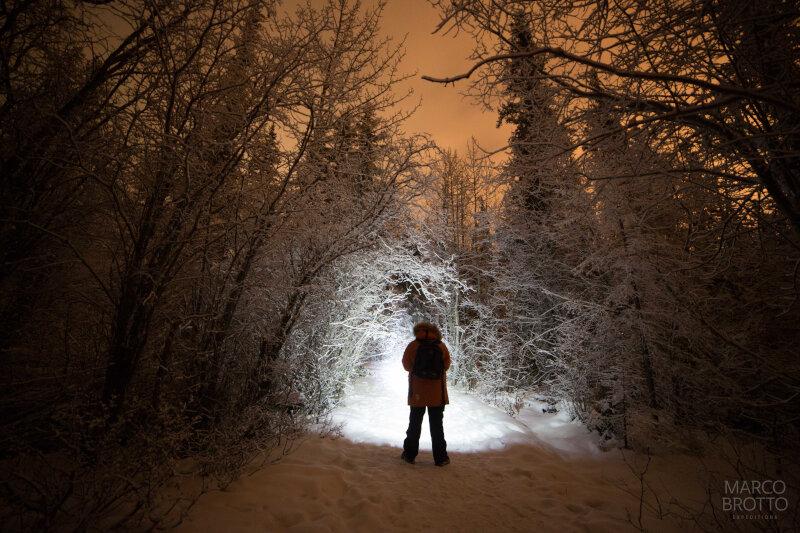 Caçando a Aurora Boreal no Canadá.
