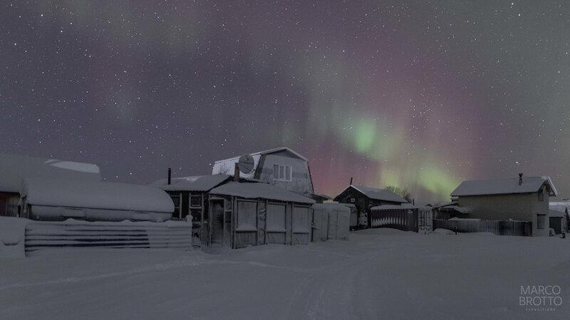 Expedição Aurora Boreal na Rùssia