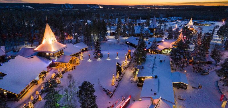Conheça a Vila do Papai Noel na Finlândia