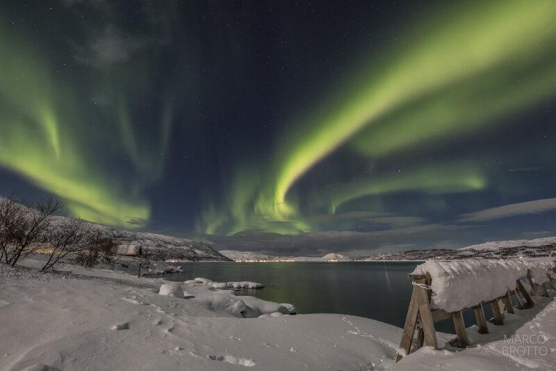 Aurora Boreal na Vila do Papai Noel